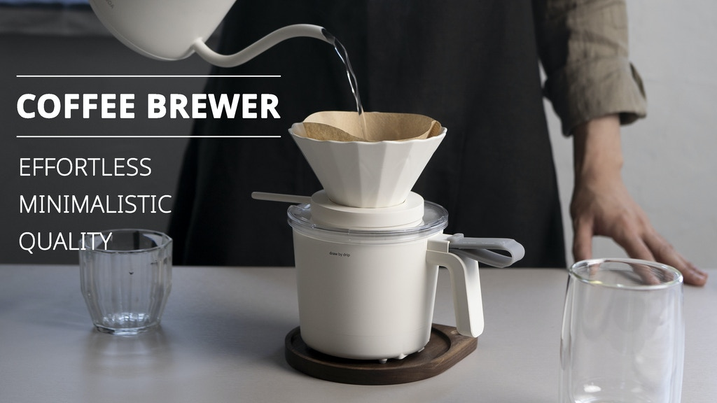 draw by drip: Effortless Coffee Brewing With Metric Accuracy project video thumbnail