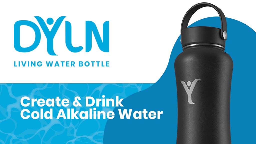 The DYLN Insulated Bottle—Create & Drink Cold Alkaline Water project video thumbnail