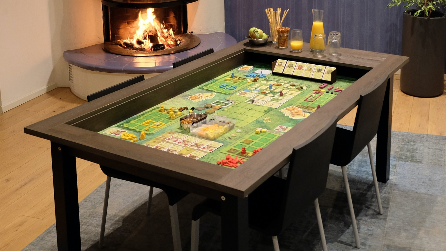 hÜne spieltische - boardgame tables for every day by hÜne - kraken