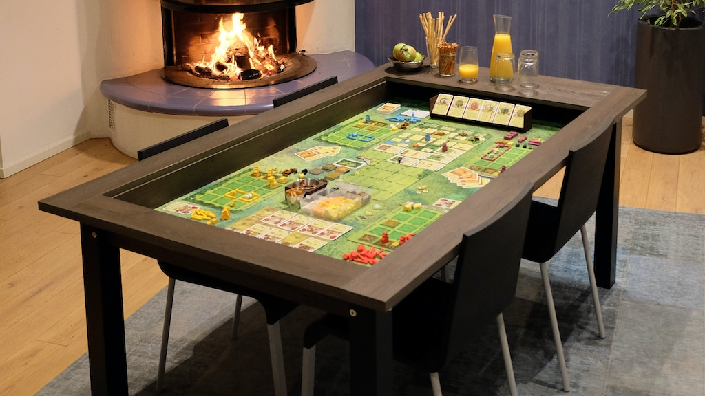 HÜNE Spieltische - Boardgame tables for every day project video thumbnail