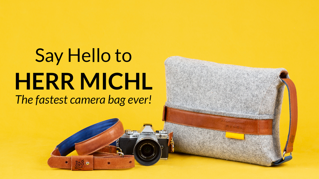 Herr Michl - the fastest camera bag ever project video thumbnail