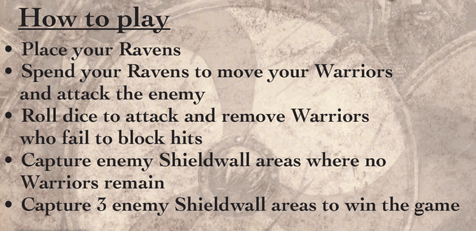 Battle Ravens is pretty simple to play!