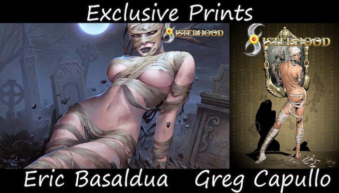 KS Exclusive Prints. Check out the pledges!
