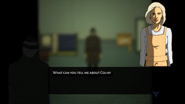 Screenshot from the Interrogation Mode