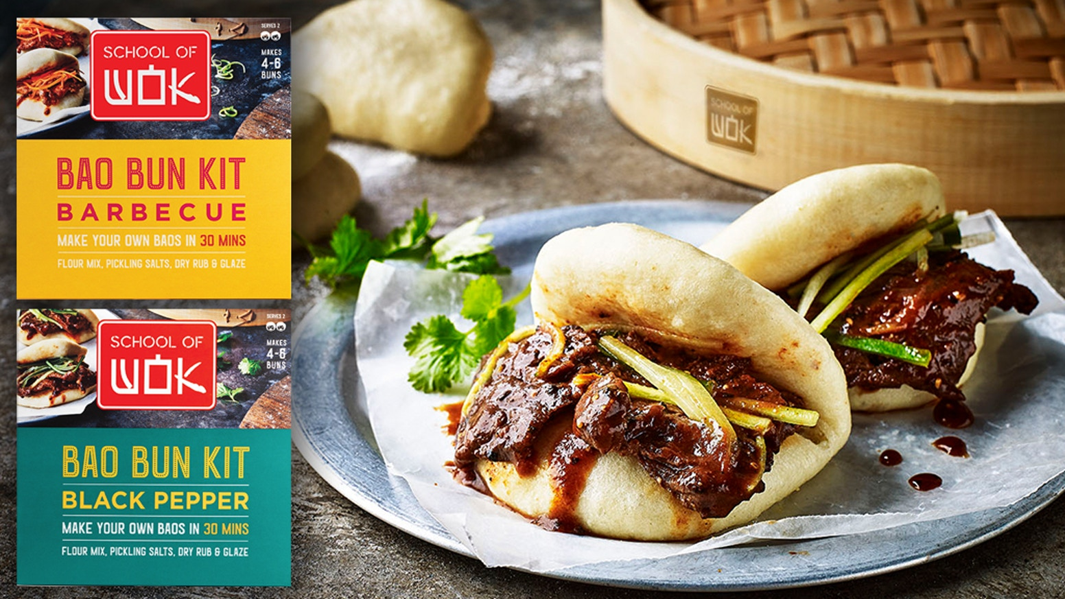 312 backers. Over £38,000 funded. Now we've got to get to work! Thanks to your funding, the award-winning Asian cookery school, School of Wok, are busy getting their DIY Bao Bun Kits into supermarkets across the world. It's A'Bao Time to go global!