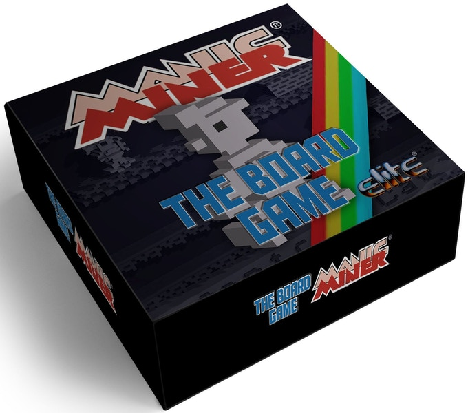 CAPTION: MANIC MINER® THE BOARD GAME (coming in 2019)