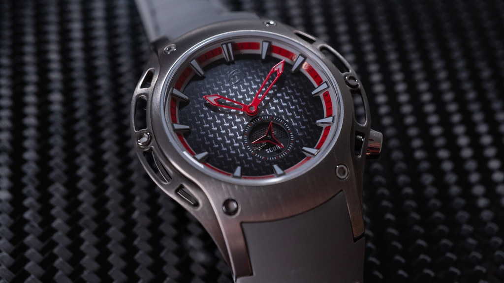 A Unique Titanium Automatic Watch At Ridiculous Value project video thumbnail
