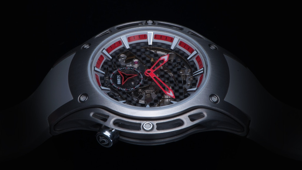 A Unique Titanium Automatic Watch At Ridiculous Value