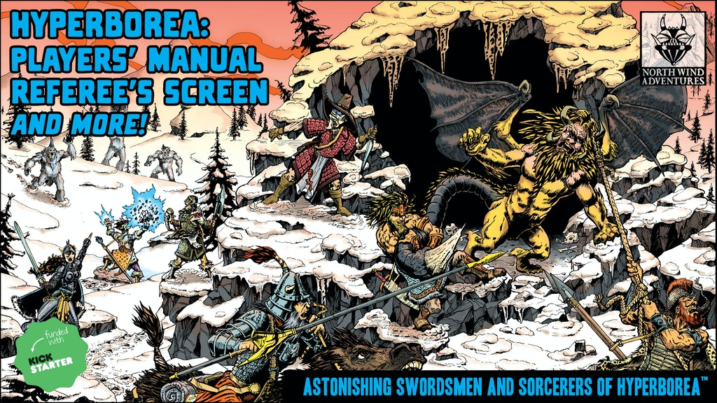 HYPERBOREA: Players' Manual, Referee's Screen, and more! project video thumbnail