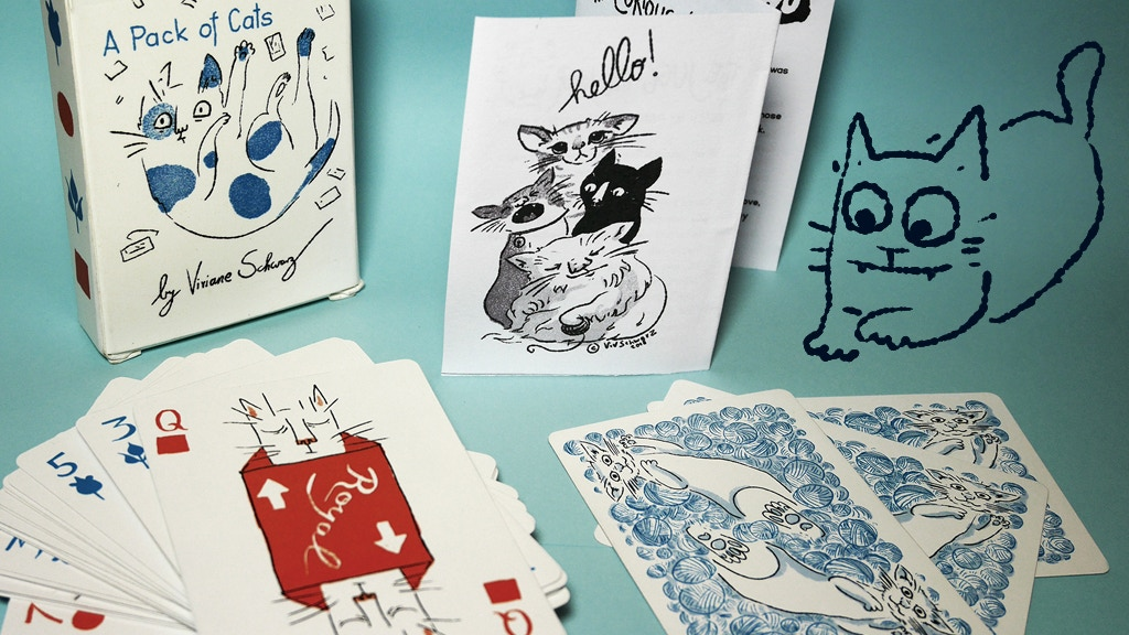 A Pack of Cats - Playing cards with a feline twist project video thumbnail