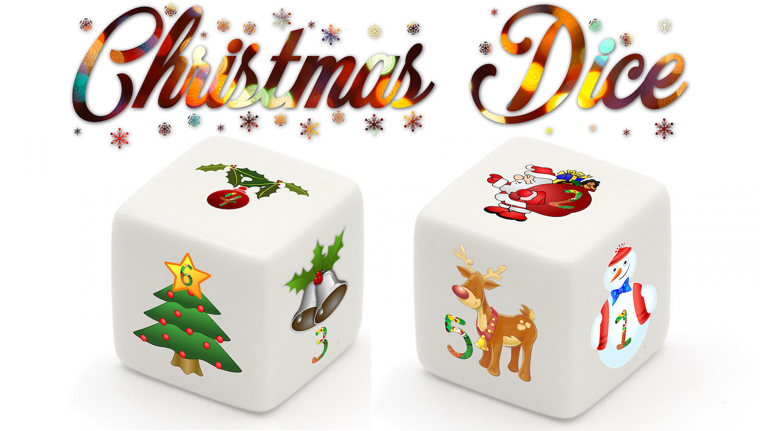 The Christmas Dice is a must buy die for Christmas this year! It is a die in Christmas style and can be used for almost every game!