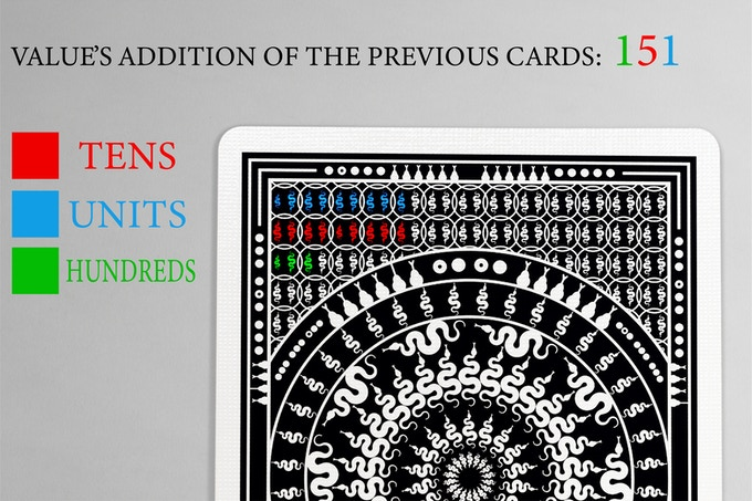 MEDUSA PLAYING CARDS with 7 marking systems by Antonio Cacace
