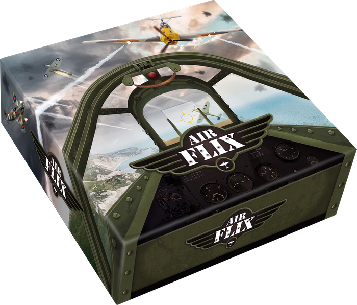Air Flix is a fast paced, Second World War, dexterity based dogfighting game for 2 or more players.