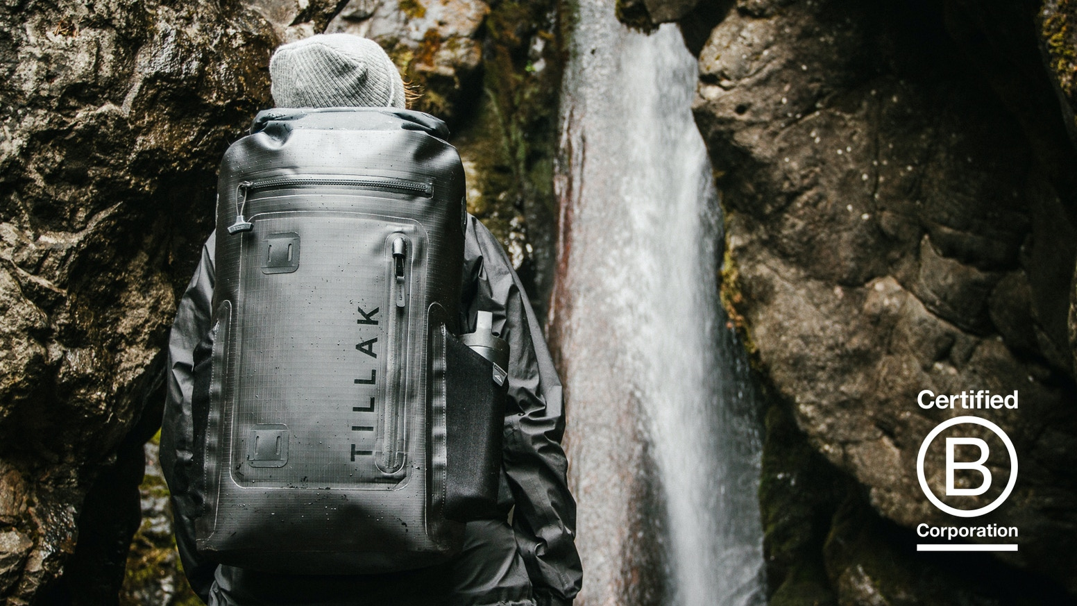 The World's Most Versatile Waterproof Backpack.