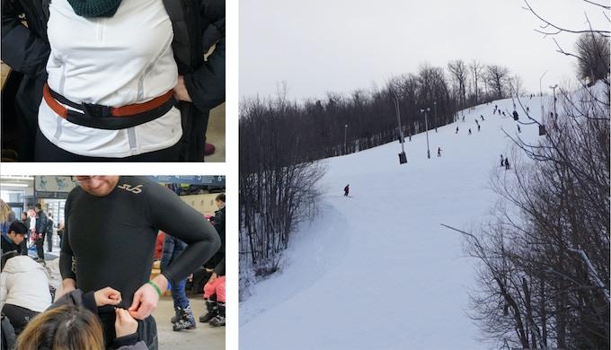 Testing at Blue Mountain Ski Resort, Ontario