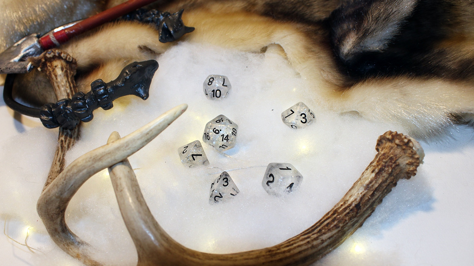 We're going to take our already awesome RPG dice subscription to the next level by manufacturing a custom set of dice.