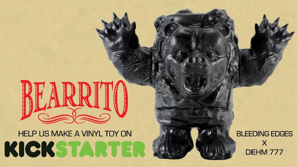 BEARRITO vinyl toy project video thumbnail