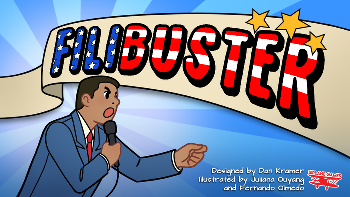A fast paced, semi-cooperative political party game for 3-5 players!
