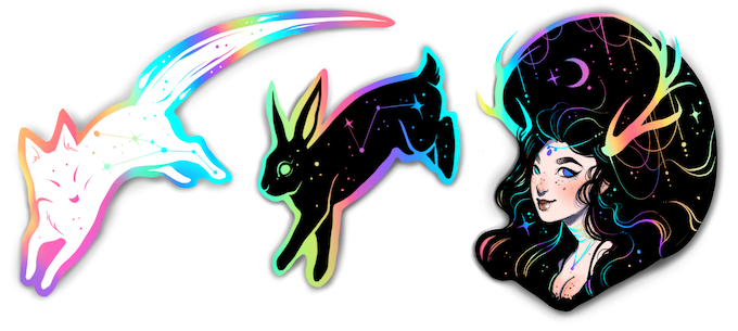 *Please note these are mockups and final design may vary slightly...and be hella more shiny!