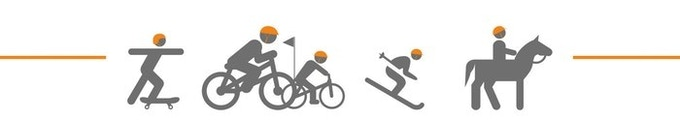 SKATE     CYCLE     SKI    RIDE