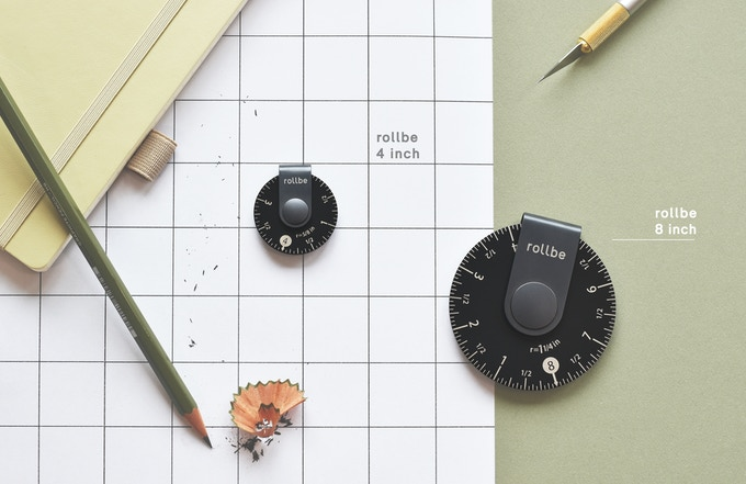 With its agile functionality, Rollbe rulers have many applications for both professional and daily use.