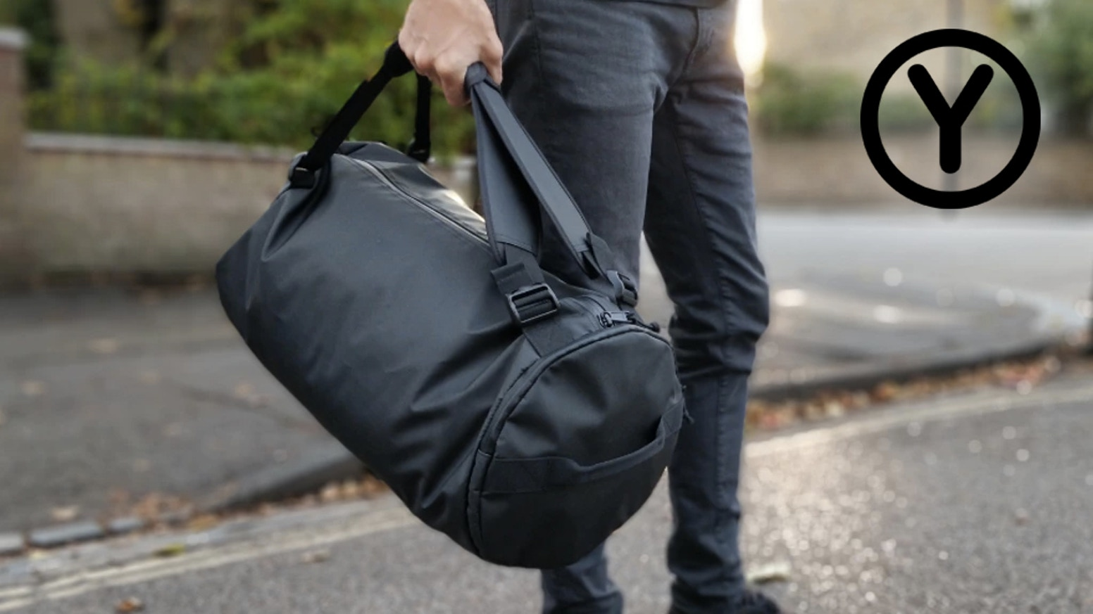 a6a2181667 Y Duffle Bag - Urban Simplicity. Weekend bag. Gym bag. Backpack.  Minimalist. Strong. Affordable. Use discount