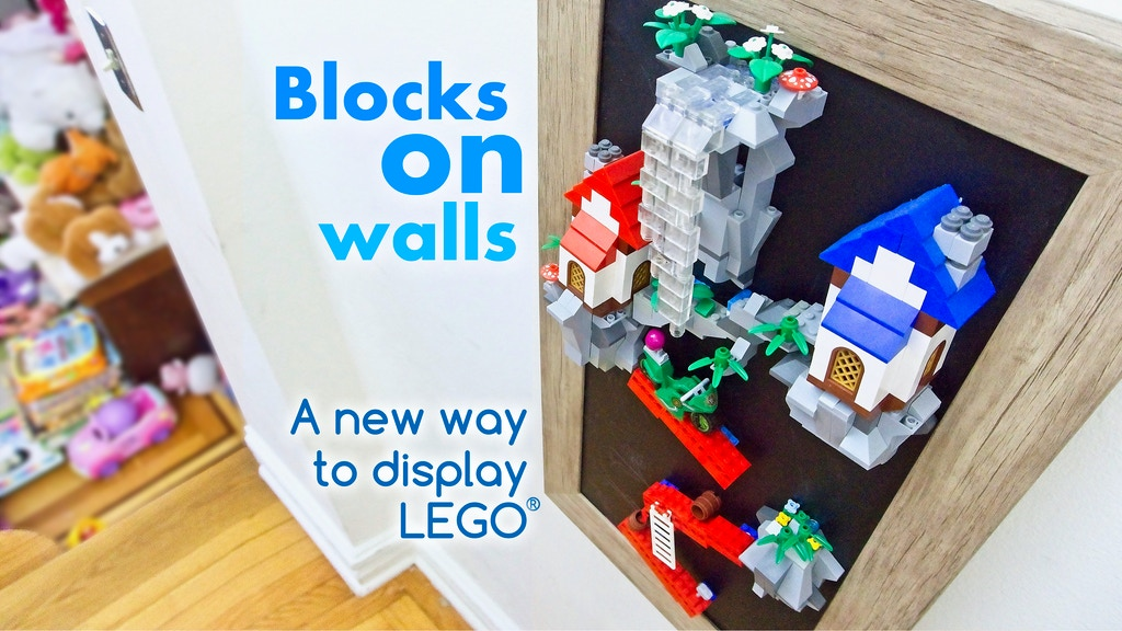 Mbriks™: Display LEGO® blocks on walls with magnetism project video thumbnail