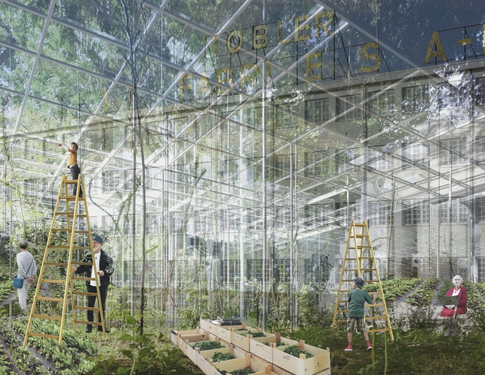 Architects impression - Furure Greenhouse