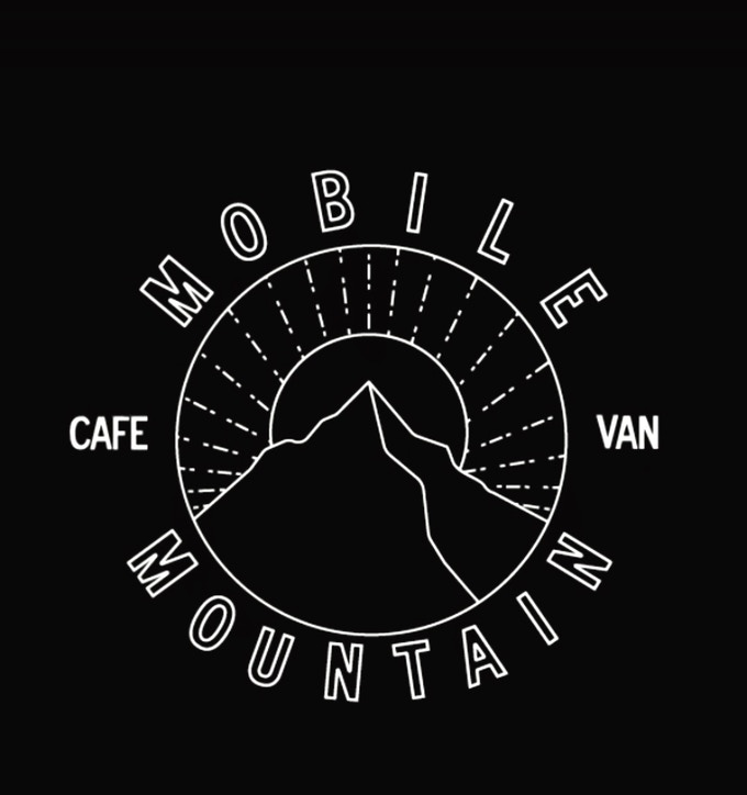 Mobile Mountain Cafe Logo by @kevin.tomas.design