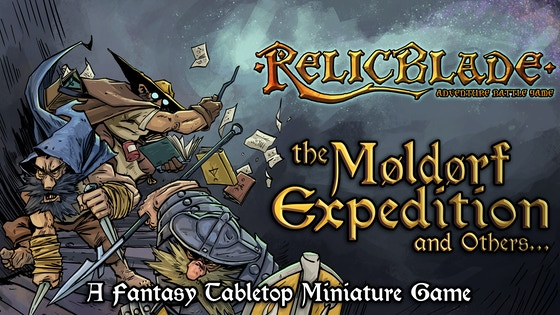 Relicblade: The Moldorf Expedition and Others board game