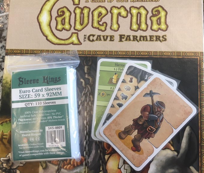 "Euro Sleeves work for many ""euro"" games and Dominion!"