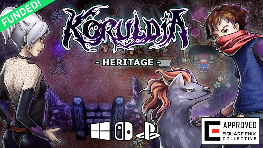 Koruldia Heritage, a pixel-painted adventure RPG project video thumbnail
