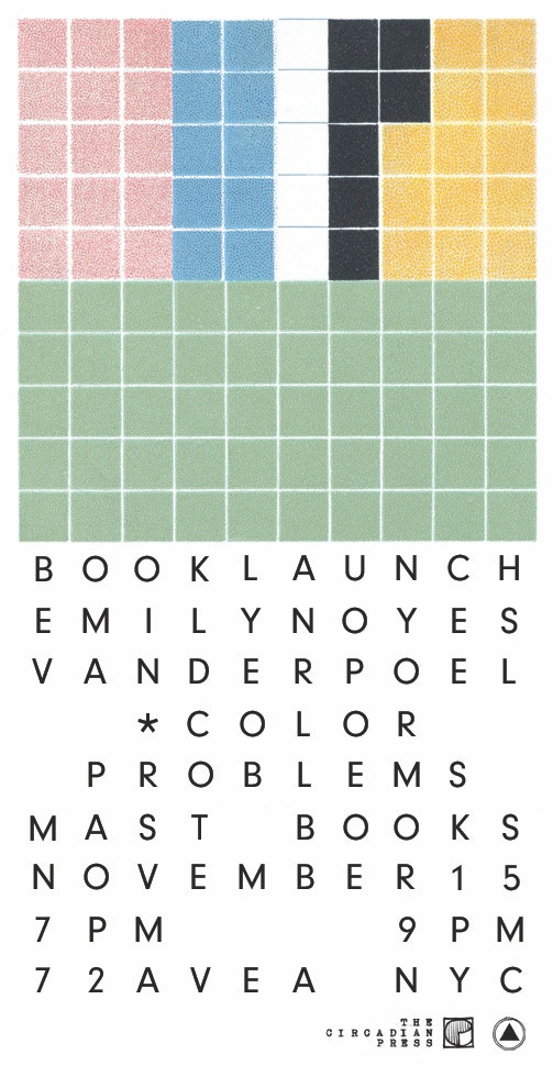 Color Problems - A Book by Emily Noyes Vanderpoel by The