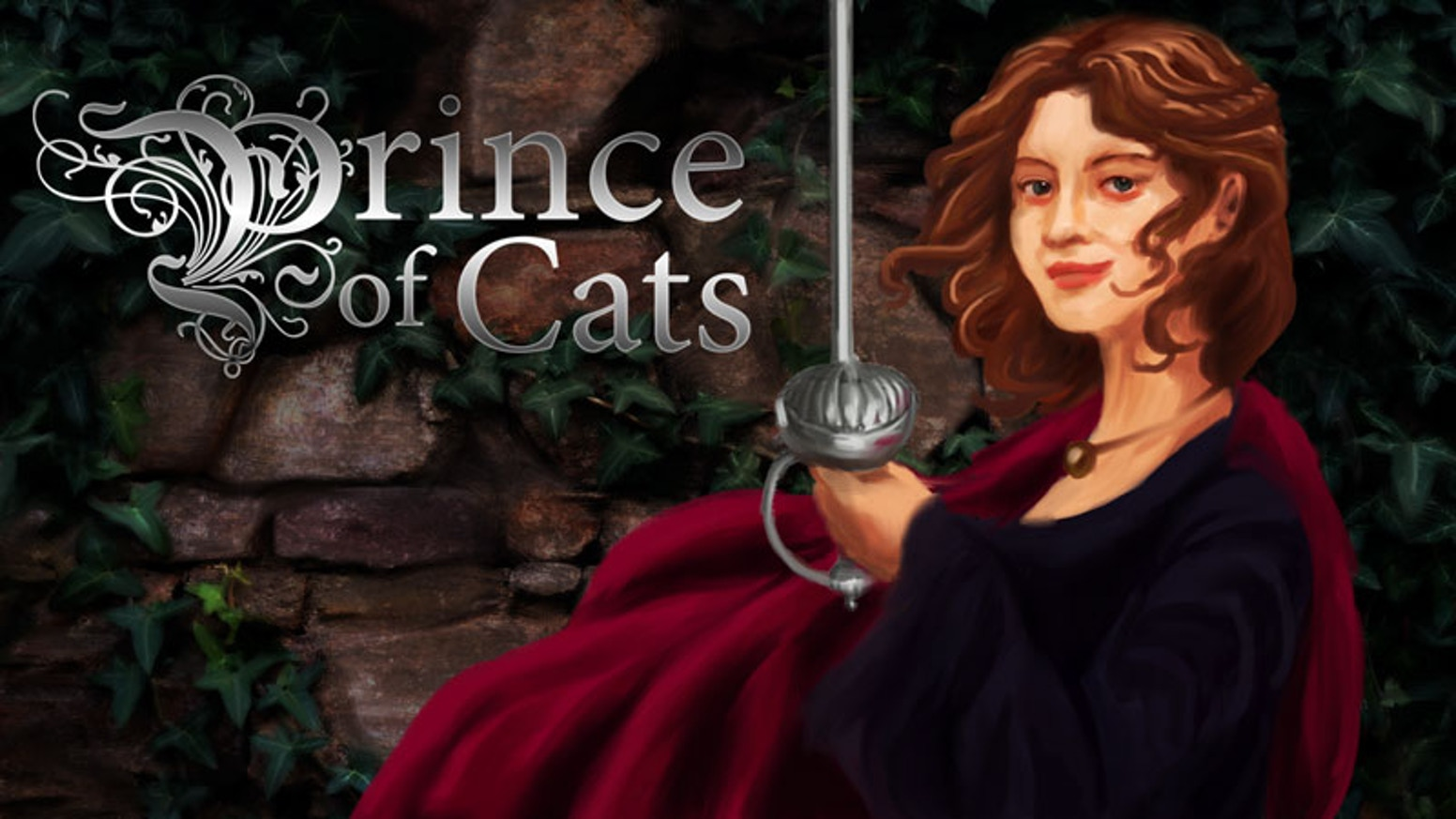 A visual novel/life sim with Shakespearean characters and Nim, a cat spirit who is searching for her master, the Prince of Cats.