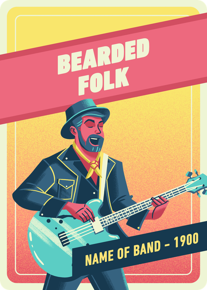 Bearded Folk Singer