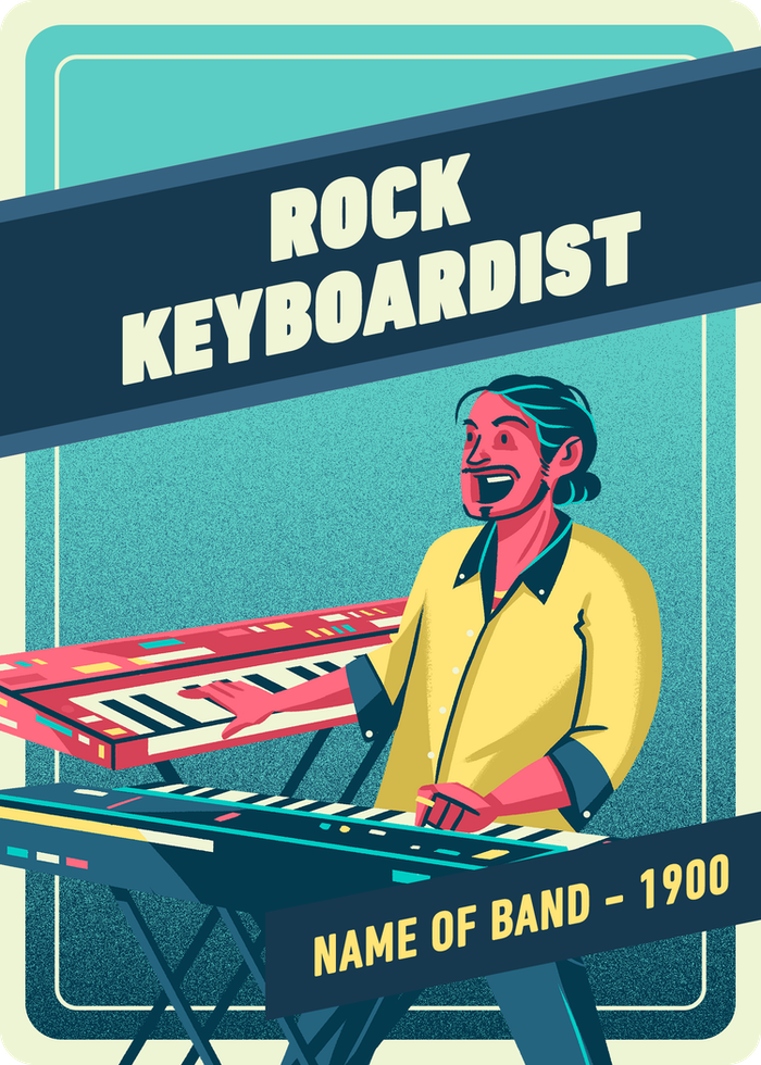 Rock Keyboardist