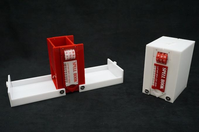 Acrylic Tower of Holding Prototypes