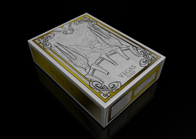 GOLD FOIL STAMPED TUCK BOX