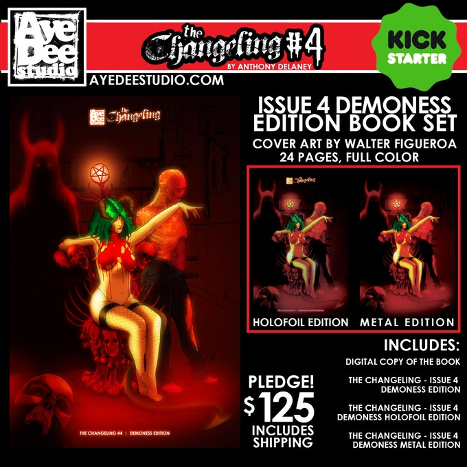 The Changeling Issue 4 Demoness Edition Set