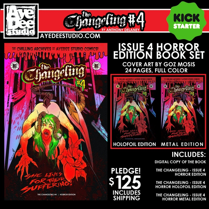 The Changeling Issue 4 Horror Edition Set