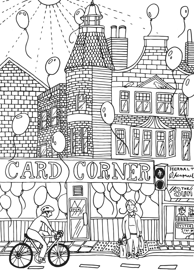 Holly Beryl - Colour in Camberwell Illustration