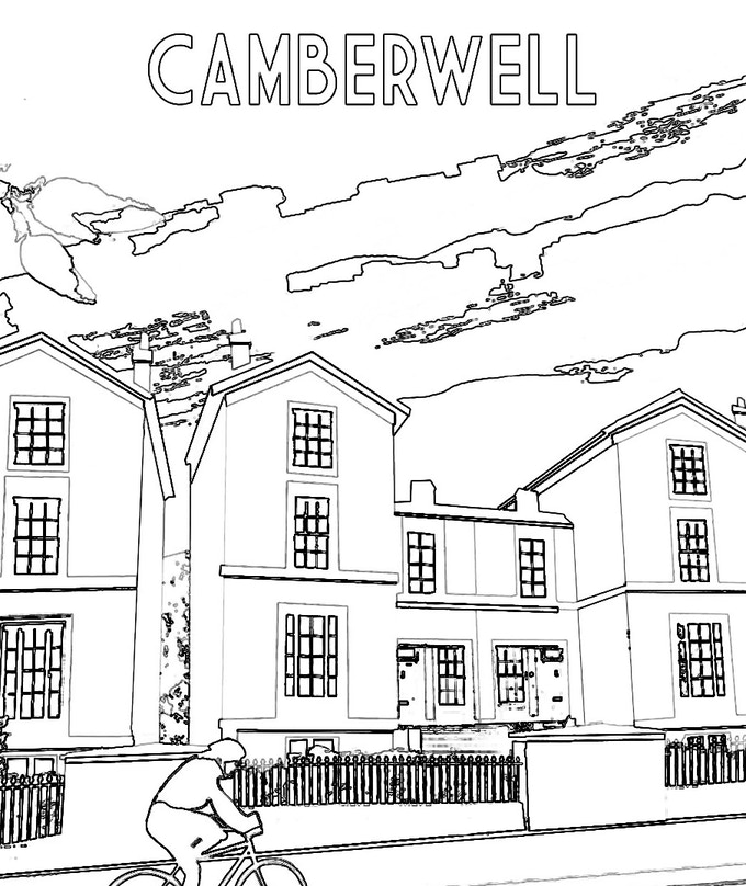 Sinead Taylor - Colour in Camberwell Illustration
