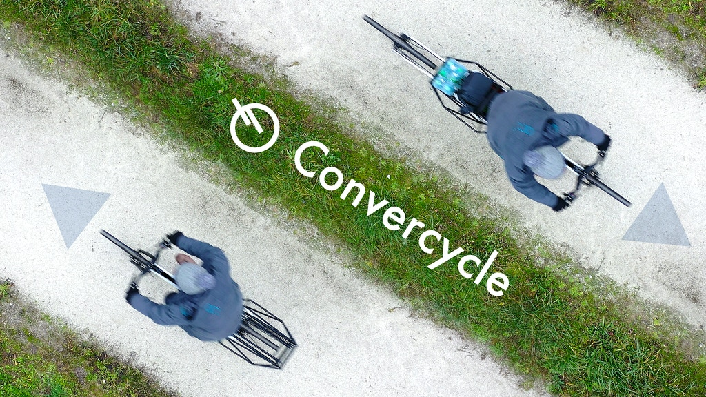 CONVERCYCLE BIKE - The convertible (electric) Bicycle project video thumbnail