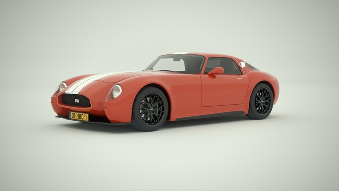 HB Coupe Road Racer - Tomato Red