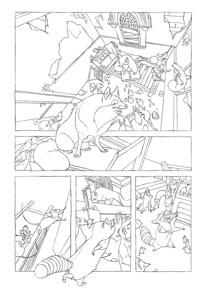 new lineart from the pages of Wraith: The Psychic and the Poet