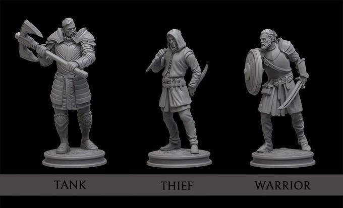 Hero miniatures