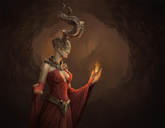 Genhelia - the Duchess of the Dark World