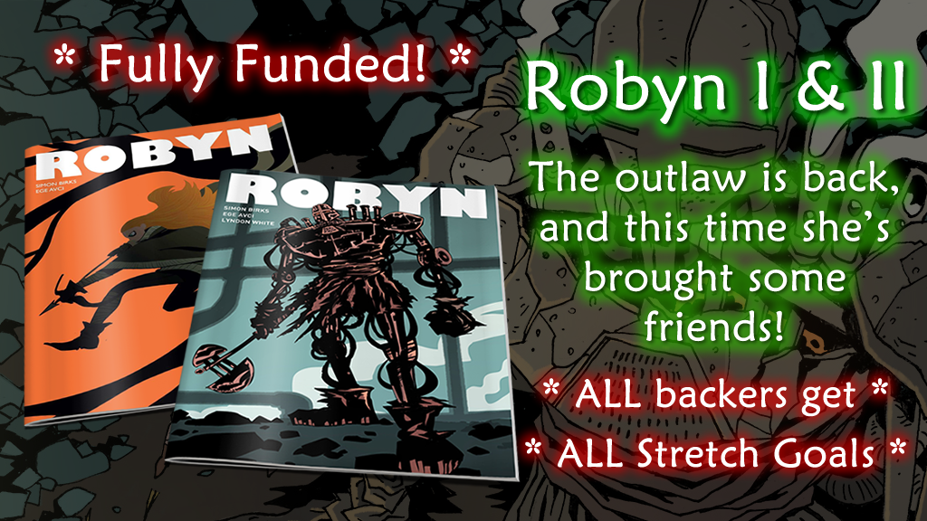 Robyn 1 & 2 - She's back, and she's brought some friends! project video thumbnail