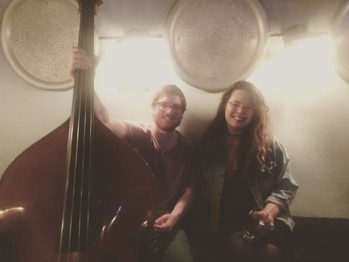 Our first NYC gig as a duo