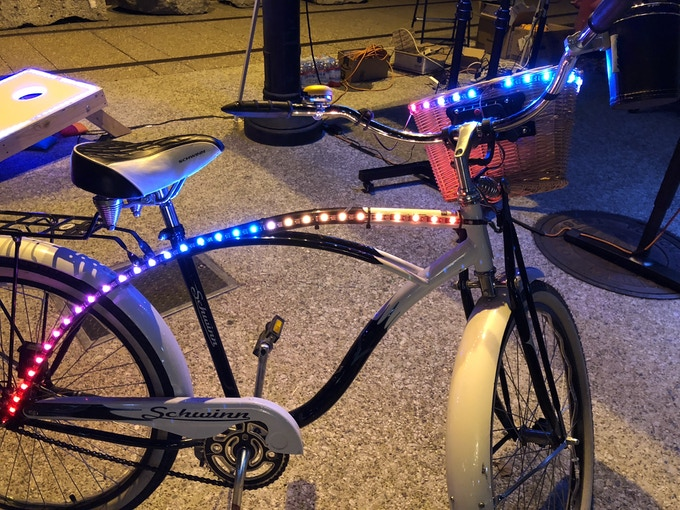 Bling-bling! Light up your bike, car, RV, and more.